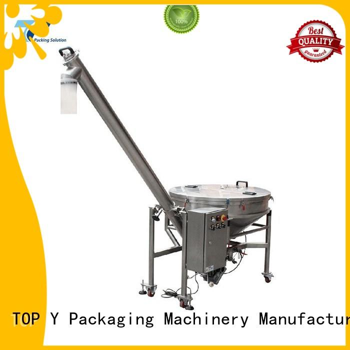 Quality TOP Y Packaging Machinery Manufacturer Brand system auxiliary vertical form fill seal packaging machines