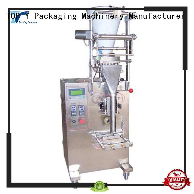 TOP Y Packaging Machinery Manufacturer Brand automatic low cost vertical form fill seal packaging machines