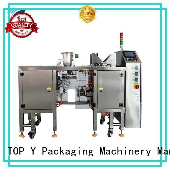 factory price popular best pouch packing machine manufacturer TOP Y Packaging Machinery Manufacturer Brand