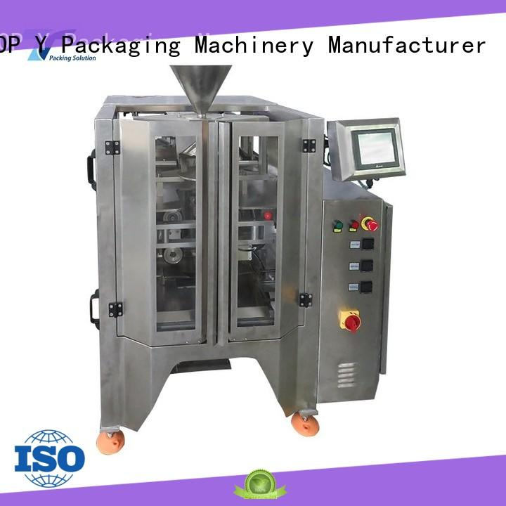 TOP Y Packaging Machinery Manufacturer automatic vffs packaging machine with good price for bag sealing