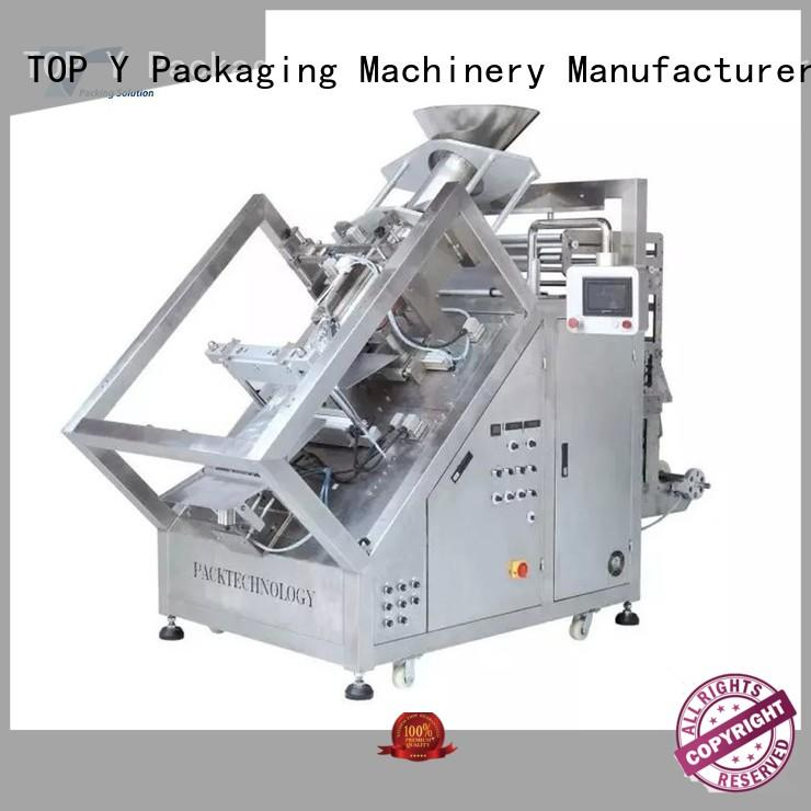 TOP Y Packaging Machinery Manufacturer stable vffs machine manufacturer design for bag filling