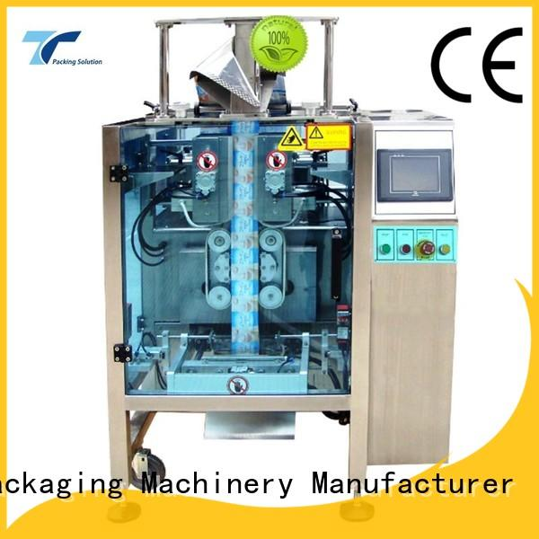 TOP Y Packaging Machinery Manufacturer automatic form fill and seal machine design for bag outfeed