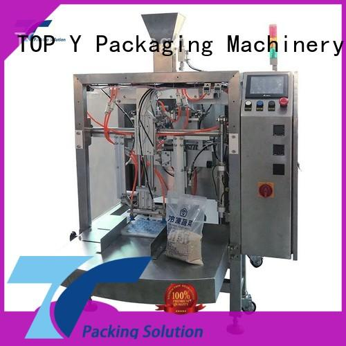 TOP Y Packaging Machinery Manufacturer zipper mini doypack machine series for bag filling