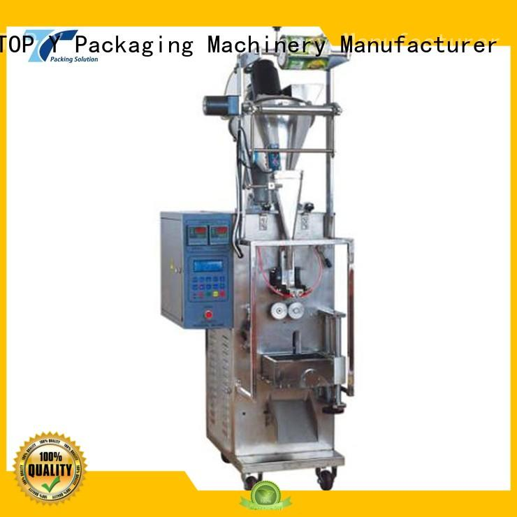 sachet professional machine low cost vertical form fill seal packaging machines TOP Y Packaging Machinery Manufacturer Brand