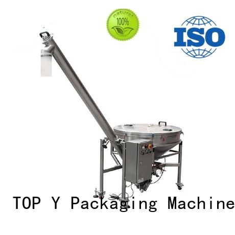 TOP Y Packaging Machinery Manufacturer Brand CE vibratory auxiliary vertical form fill seal packaging machines manufacture