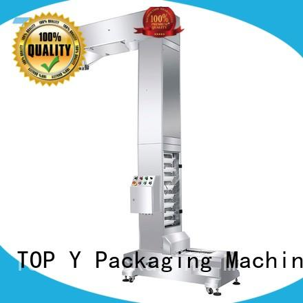 TOP Y Packaging Machinery Manufacturer vibratory form fill seal packaging machine auxiliary wholesale for bag outfeed