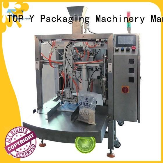TOP Y Packaging Machinery Manufacturer doypack pouch packing machine price series for bag making