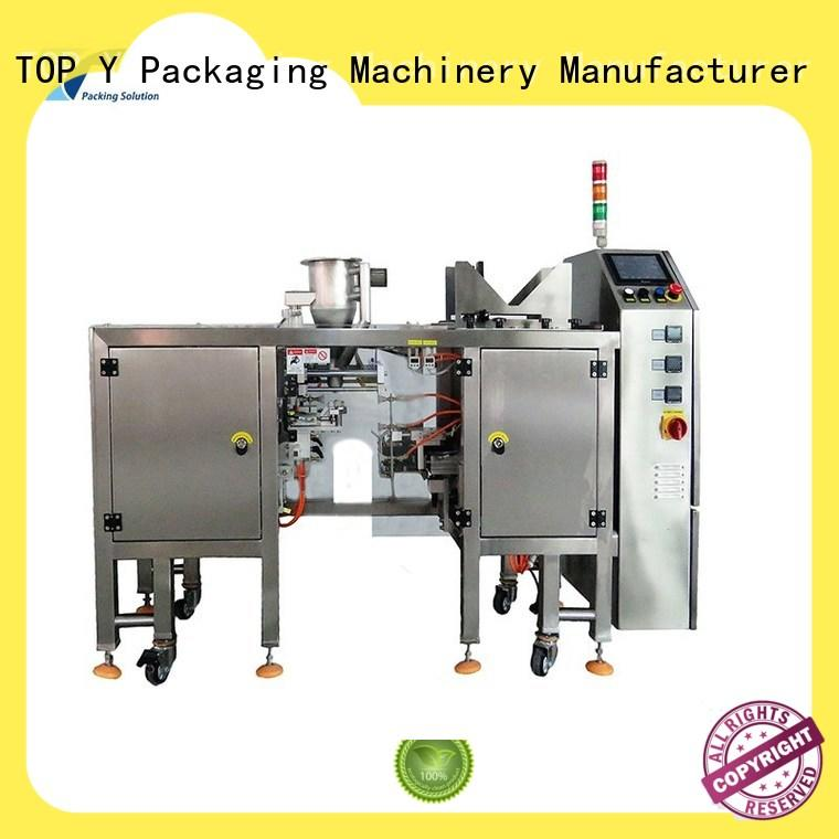 TOP Y Packaging Machinery Manufacturer top stand up pouch packing machine directly sale for bag filling