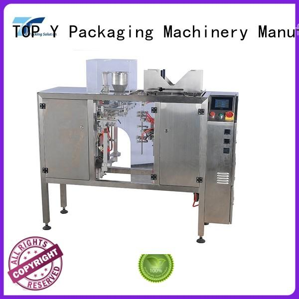 TOP Y Packaging Machinery Manufacturer bags pouch filling and sealing machine customized for bag making