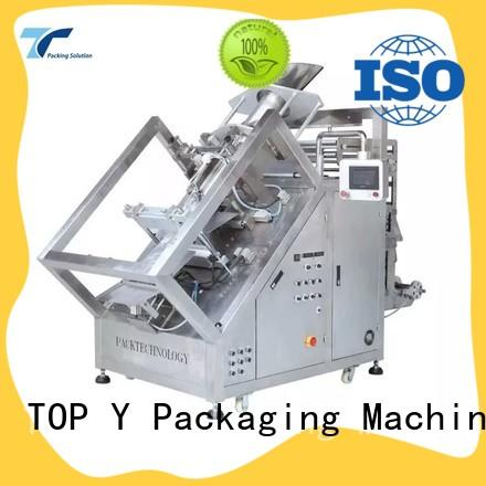 TOP Y Packaging Machinery Manufacturer automatic vertical packaging machine design for bag sealing