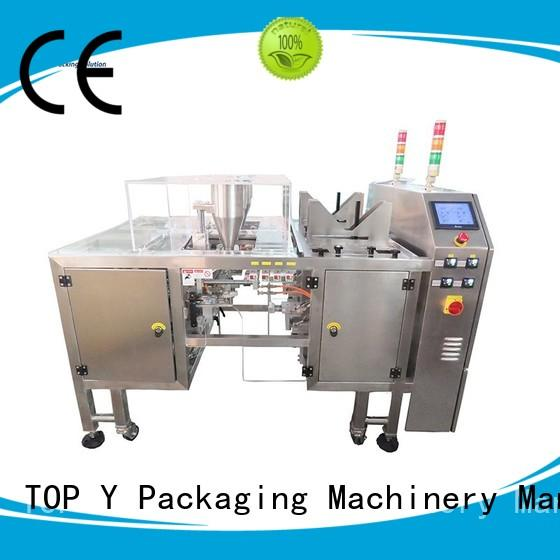 powder pouch packing machine vertical TOP Y Packaging Machinery Manufacturer Brand pouch packing machine manufacturer