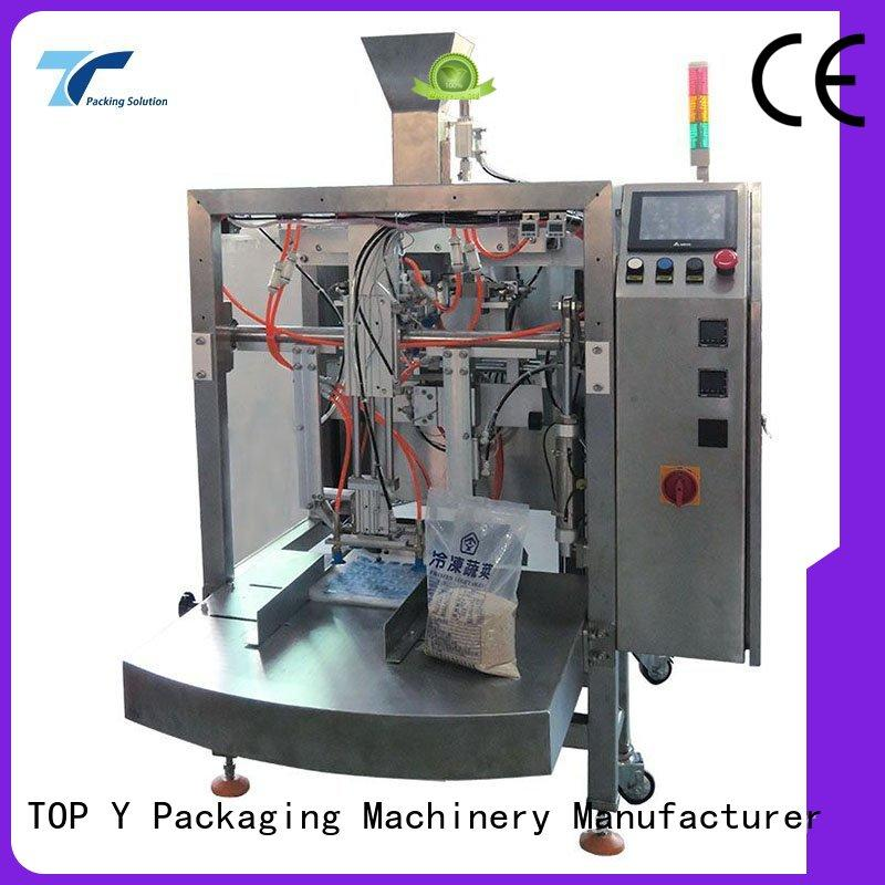 side plastic pouch packing machine bags for bag filling TOP Y Packaging Machinery Manufacturer