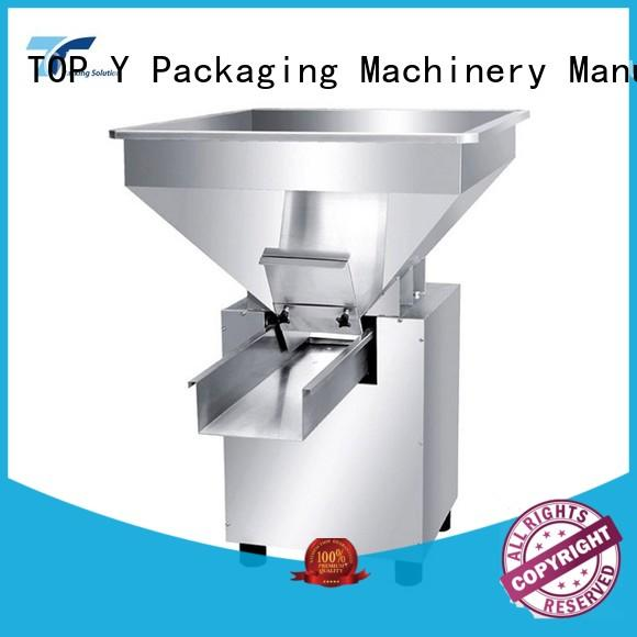 TOP Y Packaging Machinery Manufacturer design auxiliary form fill seal packaging machine supplier for bag outfeed