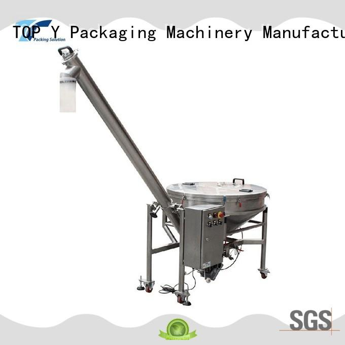 TOP Y Packaging Machinery Manufacturer yac form fill and seal machine for sale factory price for bag outfeed