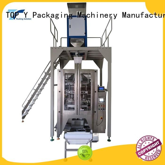 TOP Y Packaging Machinery Manufacturer reliable automatic packing machine design for bag outfeed