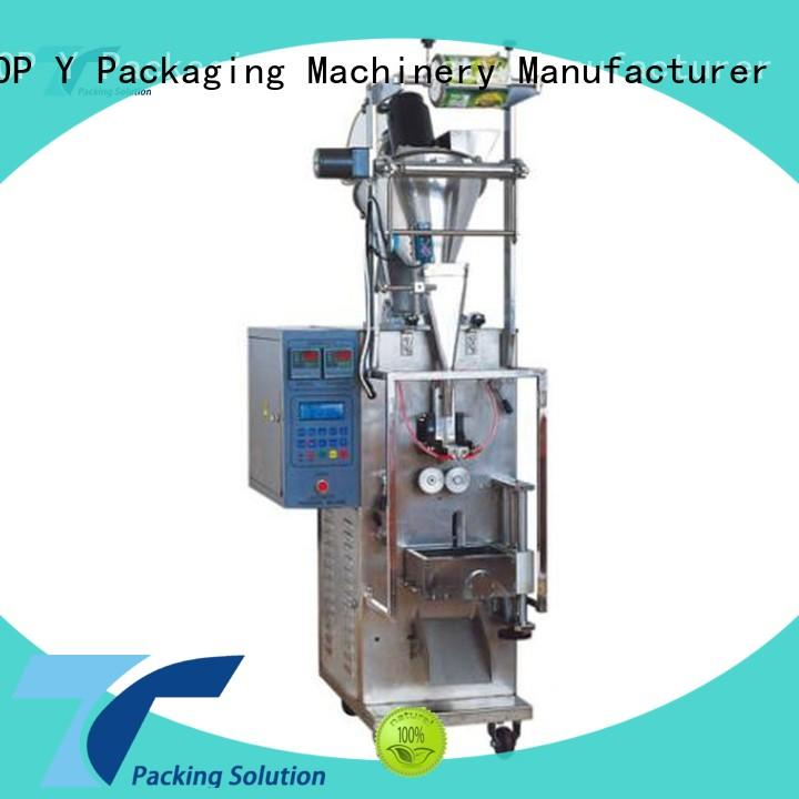 TOP Y Packaging Machinery Manufacturer machine automated packaging machine from China for milk