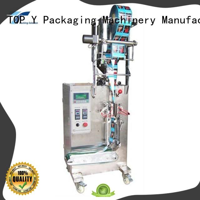 TOP Y Packaging Machinery Manufacturer hot selling automated packaging machine directly sale for milk