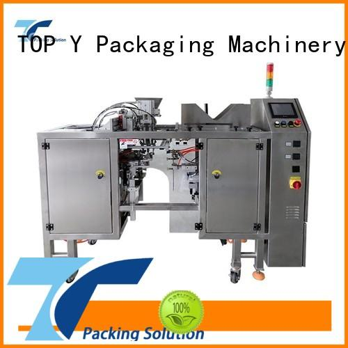 packaging zipper hot sale pouch packing machine manufacturer TOP Y Packaging Machinery Manufacturer