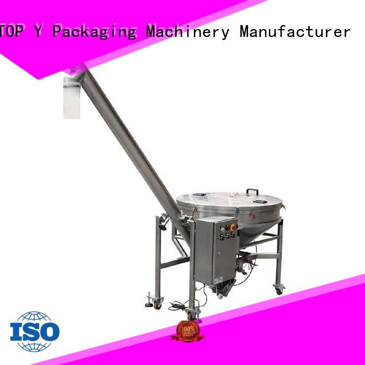 auxiliary powder pouch packing machine system conveyor TOP Y Packaging Machinery Manufacturer Brand