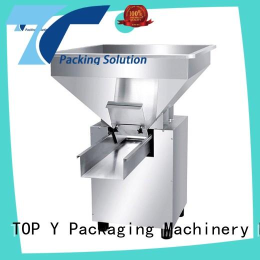 TOP Y Packaging Machinery Manufacturer acclivitous form fill seal packaging machine auxiliary wholesale for bag filling