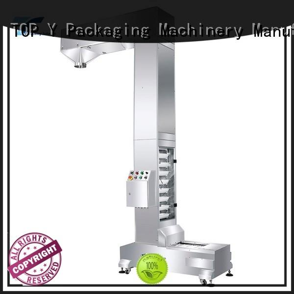 TOP Y Packaging Machinery Manufacturer manufactures filling and packaging machines factory price for bag outfeed