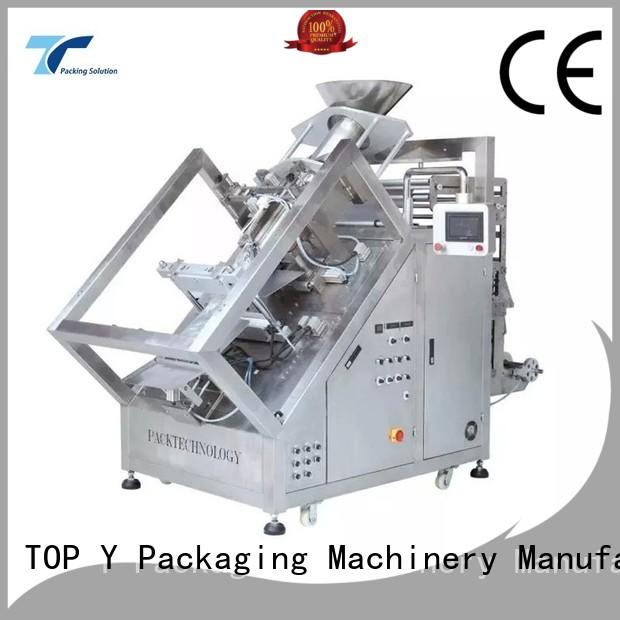 TOP Y Packaging Machinery Manufacturer quad vertical packaging machine factory for bag making