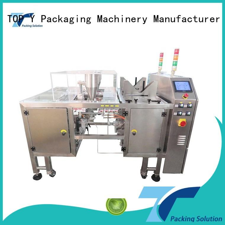 TOP Y Packaging Machinery Manufacturer pouch pouch packing machine manufacturer from China for bag filling