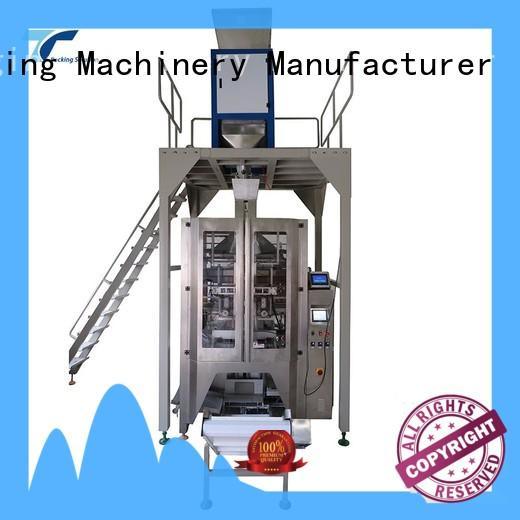 TOP Y Packaging Machinery Manufacturer reliable vffs packaging machine with good price for bag sealing