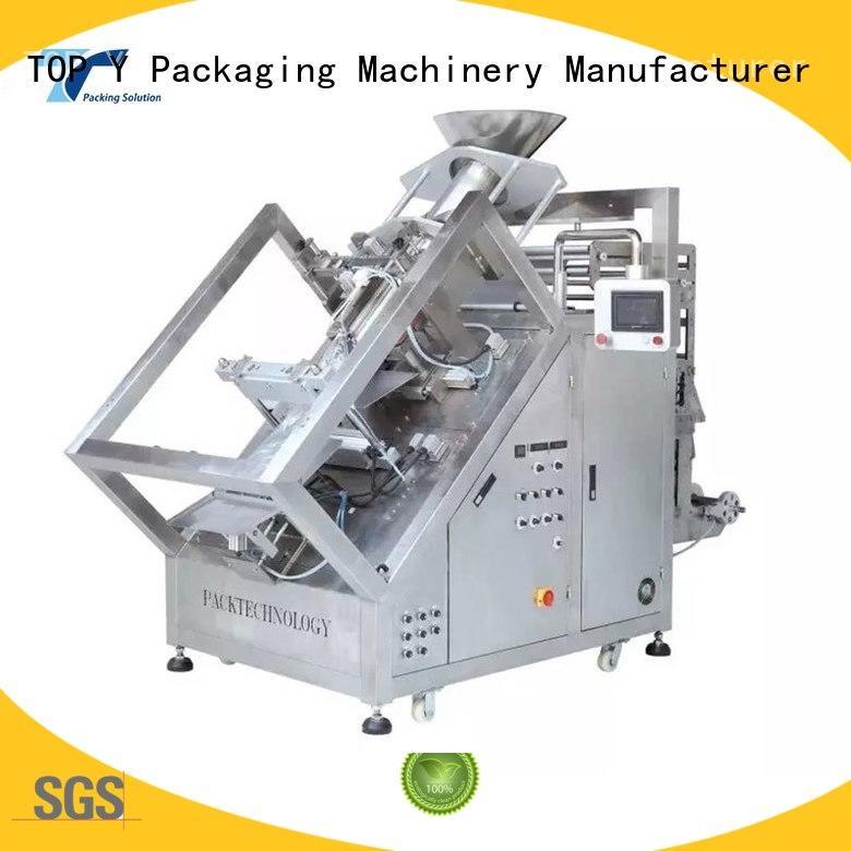TOP Y Packaging Machinery Manufacturer bag vffs packaging machine design for bag filling