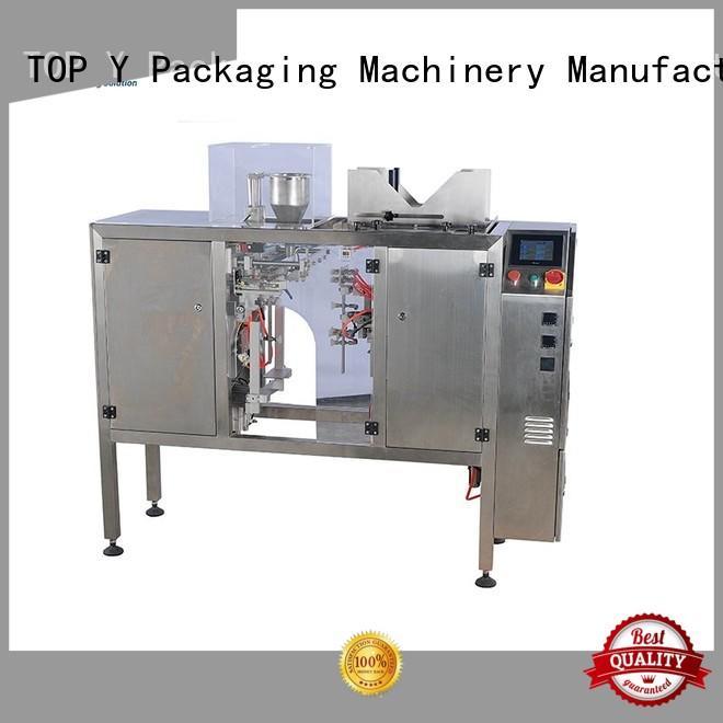 filling pouch side pouch packing machine manufacturer TOP Y Packaging Machinery Manufacturer Brand