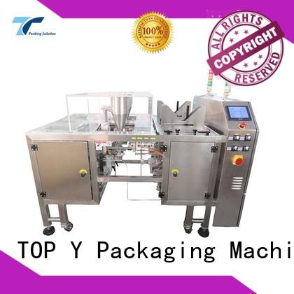 TOP Y Packaging Machinery Manufacturer side sachet packing machine manufacturer for bag filling