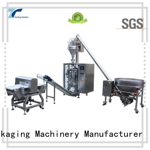 TOP Y Packaging Machinery Manufacturer Brand quad packing doypack fill horizontal packaging machine
