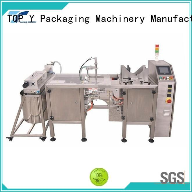 TOP Y Packaging Machinery Manufacturer equipment horizontal form fill seal machine design for commercial