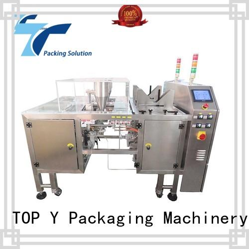 Linear Type powder pouch packing machine price TOP Y Packaging Machinery Manufacturer company