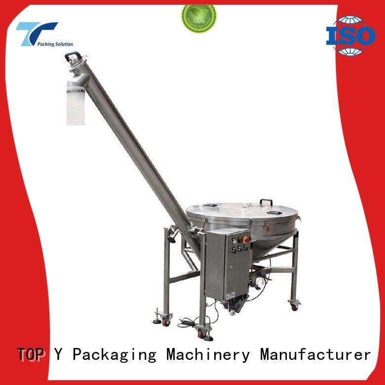 TOP Y Packaging Machinery Manufacturer feeder machine for packaging personalized for bag filling