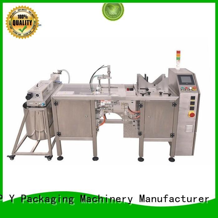 Liquid Packaging Line hot selling TOP Y Packaging Machinery Manufacturer Brand horizontal packaging machine