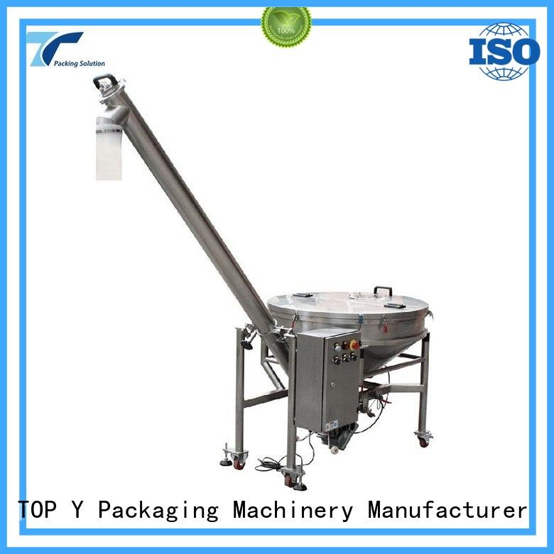 screwauger high quality system auxiliary vertical form fill seal packaging machines TOP Y Packaging Machinery Manufacturer Brand