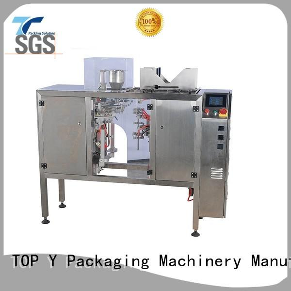 automatic stand up pouch filling and sealing machine gusset directly sale for bag sealing