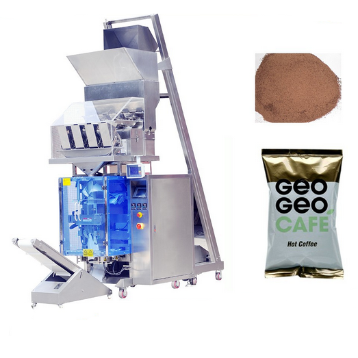 Integrated Granule Packaging Machine Line Systems Layout