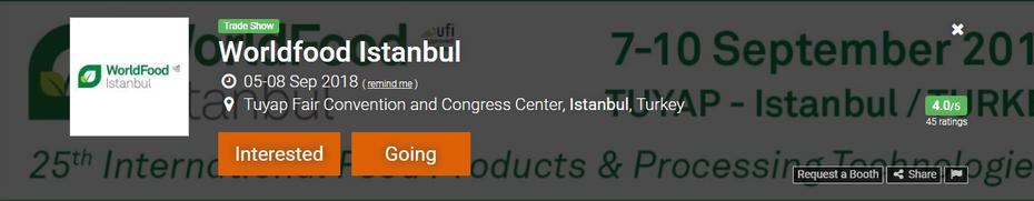 World Food Istanbul (TW)