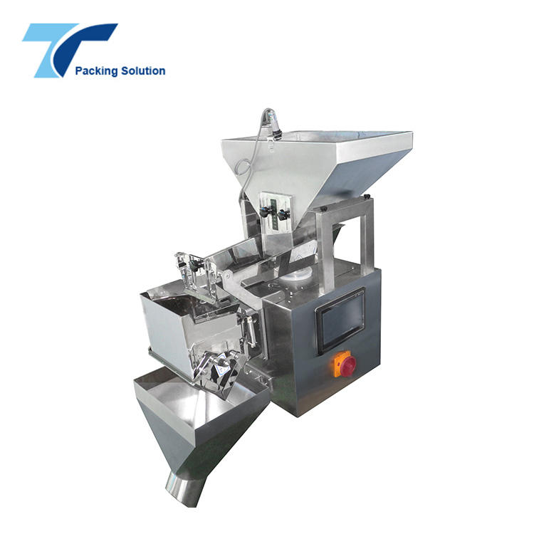 Linear Weigher with Air Blowing Bag Function