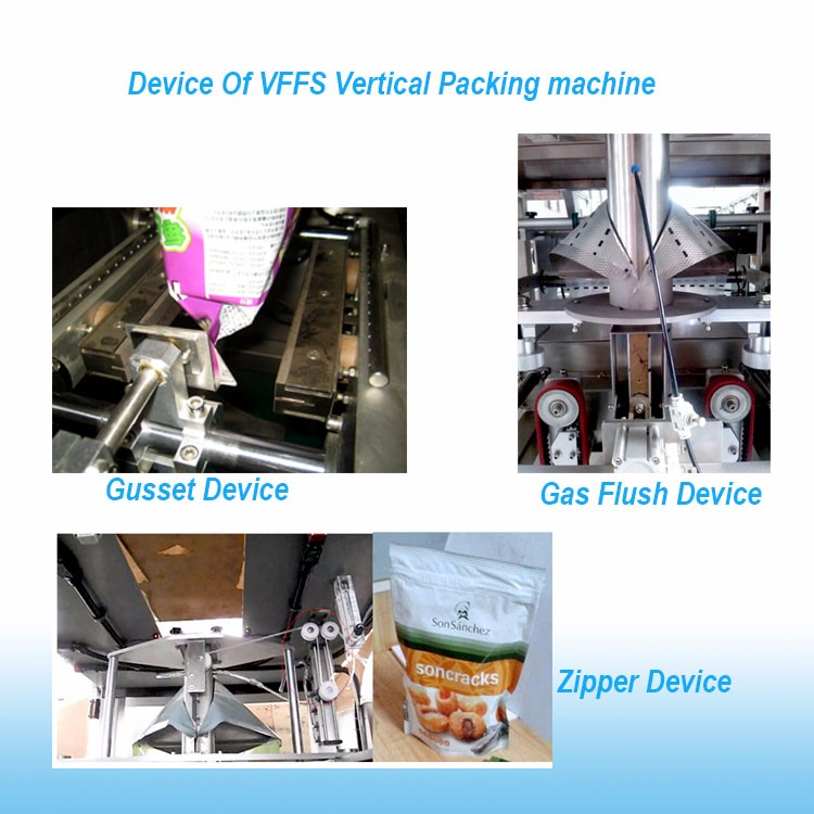Ice Candy Packaging Filling and Sealing Machine For Buckwheat Flake Cereal Oatmeal Cookies Packing