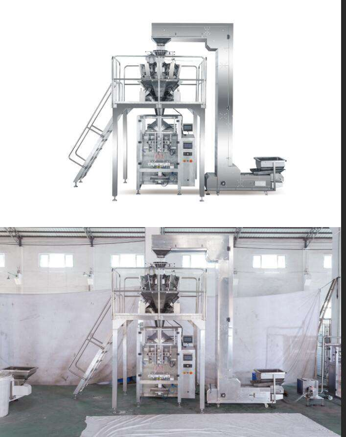 automatic counting packaging machine with multihead weigher
