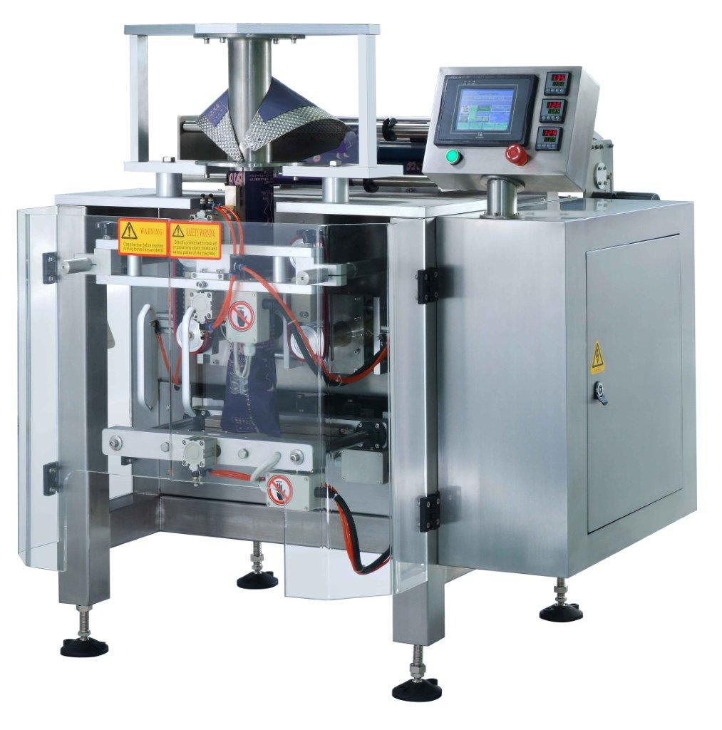 Vffs Bag Packaging Machine For Side Gusset Bags With Three Holes