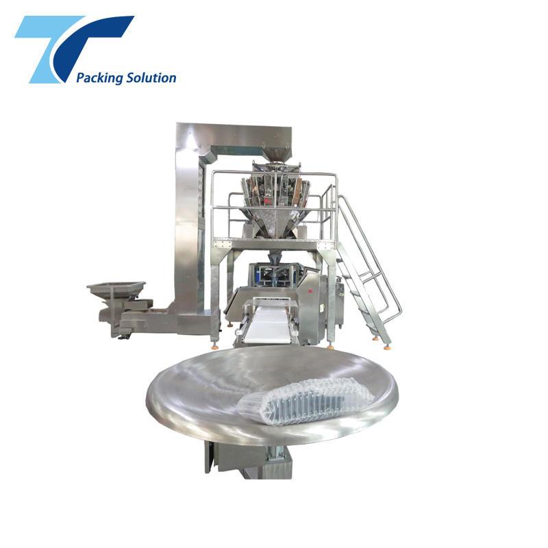Machine Running at Customers' food factory