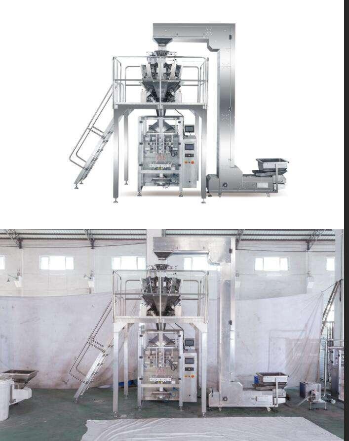 VFFS popcorn vertical forming filling sealing packing machine