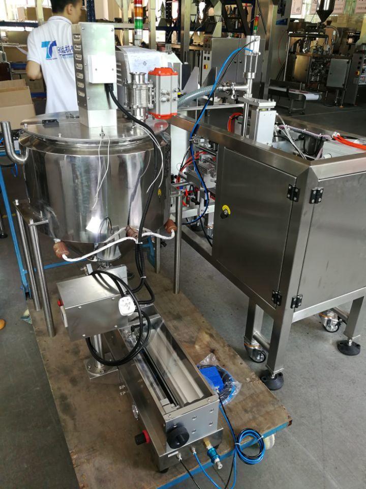 Food packaging machines in the workshop