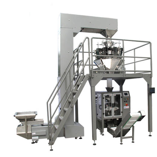 Automatic Vertical Filling Plastic Quad Seal Stabilo Tea Bag Granule Packing Machine