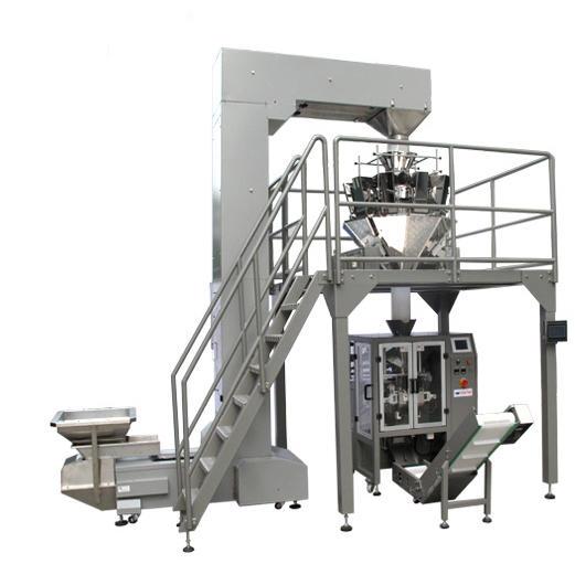 Automatic Vertical Filling Plastic Quad Seal Stabilo Tea Bag Granule Packing Machine