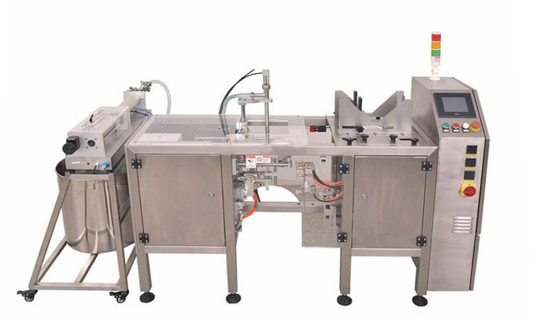 Tomato Sauce Ketchup Liquid Packaging Machine with Piston Pump